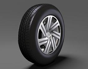 3D Citroen Berlingo wheel 2017