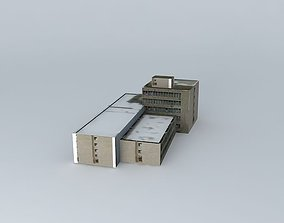 3D model Perfect house office building
