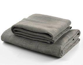 Towel Set 08 3D model