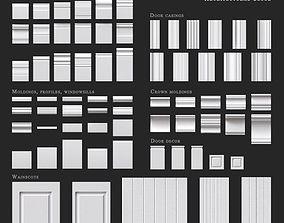 3D trim Ultrawood architectural decor