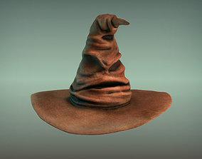 Harry potter hat - sorting hat 3D model