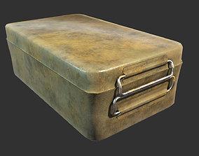 3D asset Rusty Supply Box
