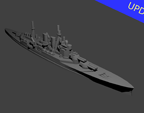 3D printable model British Renown Class Battlecruiser