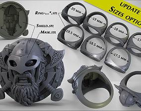 rings Ring Viking 3D printable model