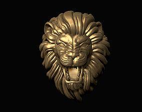 3D printable model Furious Lion Head