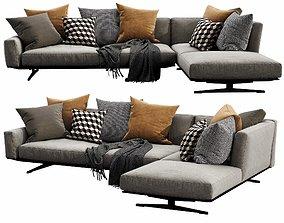Flexform Soft Dream Chaise LOunge 3D