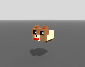 3D model Voxel Puppy