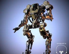 Industrial Mech 3D asset