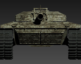 war Tank 3D Model