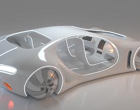cyberpunk 3D Future Car 34