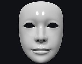 3D asset Neutral Theater Mask