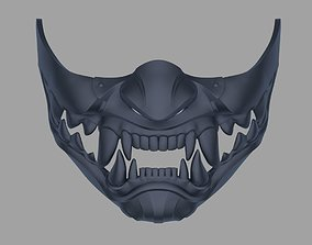 3D printable model Kitana Samurai mask from Mortal 1
