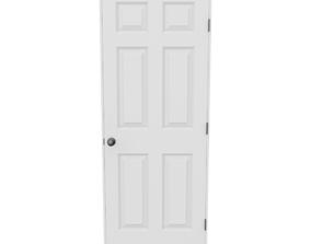 3D model traditional Interior Door