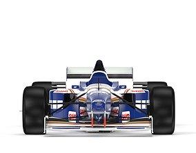 F1 Williams FW18 1996 3D model