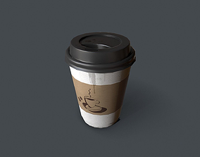 3D model Paper cup coffee