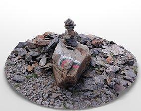 Stones Photoscan 3D model