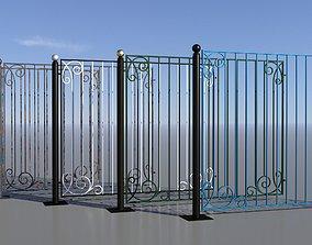 border 3D Fence 08