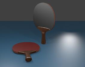 3D model Ping-pong racket