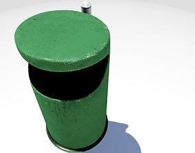 garbage Trashcan 3D model
