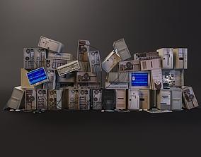 3D asset Computer dump