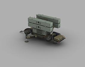 Skyguard Launcher area defense system 3D asset