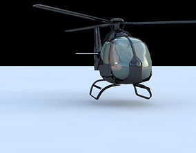 heiicopter eurocopter 3D