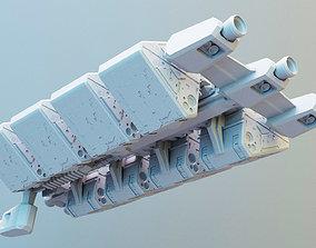 games-toys Freightship Civilian mini 3D printable model