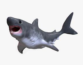 animated Baby Shark Model - 18 Animations