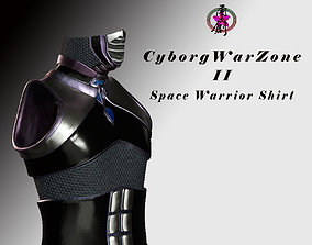 Cyborg Warzone - Space Warrior Shirt 3D asset