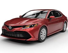 3D Toyota Camry LE 2019