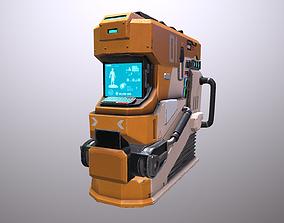 Futuristic Maintenance Bay 3D model