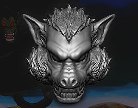 Kong Head - Oozaru - Dragon ball Z 3D printable model