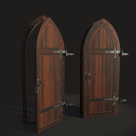 Gothic door