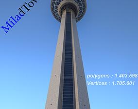 3D mark Milad tower