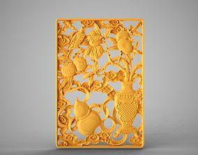 Paradise Gate Ornamentation 3D printable model