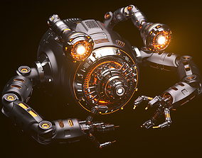Sci-Fi Drone Advanced 3D model