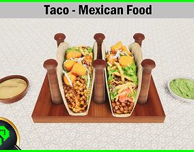 3D asset Taco - Mexican Food