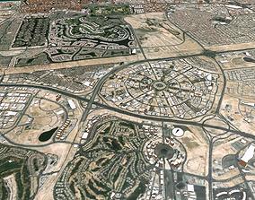 3D model Cityscape Dubai United Arab Emirates