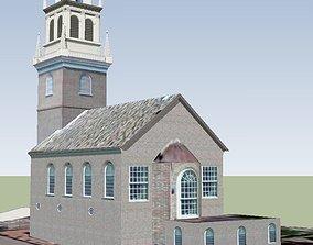 Old North Church Boston 3D model