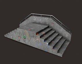 3D model Skate ramp6
