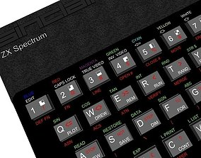 3D print model ZX Spectrum 48K