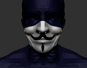 v the venganza anonymous 3D printable model