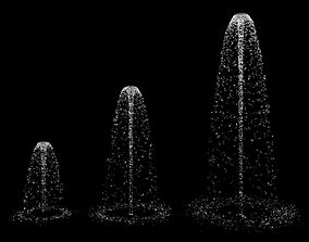 Fountain Set 3D