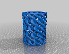 3D printable model Spiral Toothbrush Cup