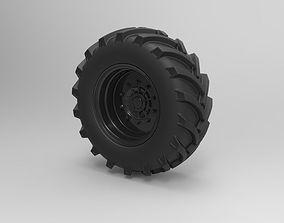 3D Offroad wheel tire