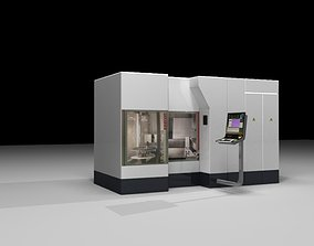 CNC machining 3D model