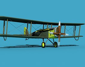 Airco DH-4 Johns Flying School 3D model