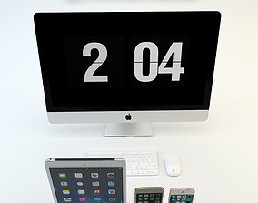 Apple electronics collection 3D model