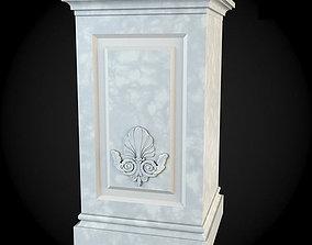 apartment 3D Pedestals