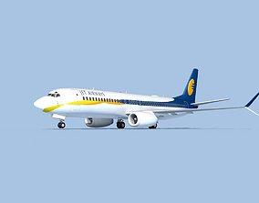 3D model Boeing 737-800 Max Jet Airways